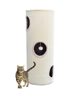 Bokštas draskyklė katinui 100cm